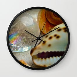 Lemurian Seed Rainbow - The Peace Collection Wall Clock