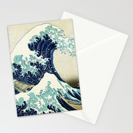 Rubino One World Great Wave Stationery Cards