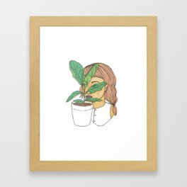 Fig Dreams Framed Art Print