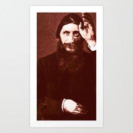 Rasputin 3 Art Print