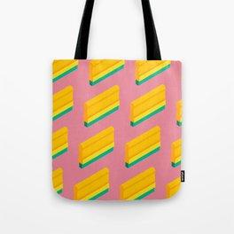 Squeege Pattern Tote Bag