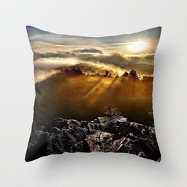 SMOKEY MOUNTAIN - 160918/1 Throw Pillow