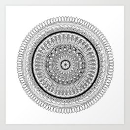 Synergy Mandala Art Print