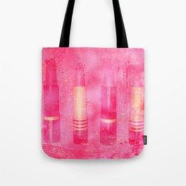 Four Tubes of Lipstick Tote Bag