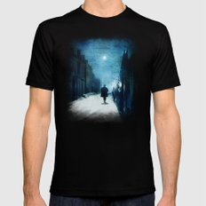 Voice Of Lights Black Mens Fitted Tee X-LARGE
