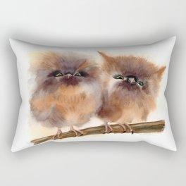 2 Babies owl Rectangular Pillow
