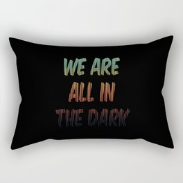 The Dark Rectangular Pillow