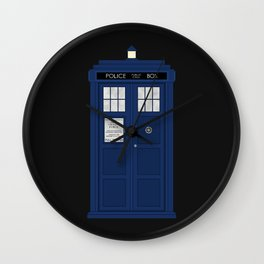 Doctor Who's Tardis Wall Clock