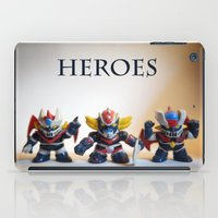 heroes iPad Cases featuring heroes by caporilli