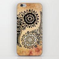yin yang iPhone & iPod Skins featuring Yin Yang by Jenndalyn