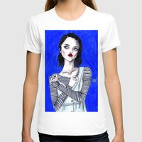 sky ferreira T-shirts featuring Sky ferreira / Blue period  by Lucas David