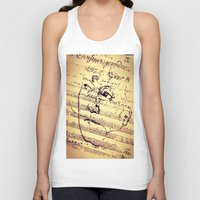 beethoven Tank Tops featuring Beethoven Music by Richard Harper
