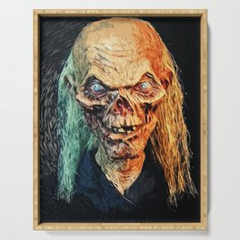 The Crypt Keeper Serving Tray