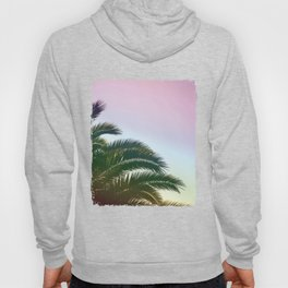 Palm Leaves  - Tropical Sky - Chilling Time Hoody