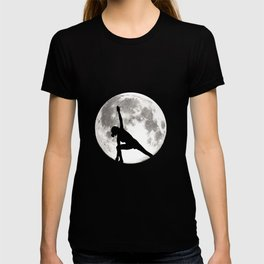 Yoga Pose Meditation Moon Yoga Class Relaxing Gift T-shirt