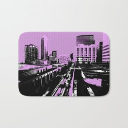The city shall be pink today! Bath Mat