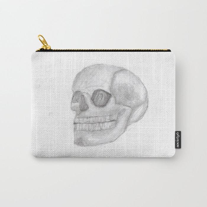 Death Skull (original work of 8yr old boy) Carry-All Pouch