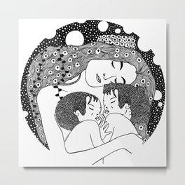 Gustav Klimt - Maternity Metal Print
