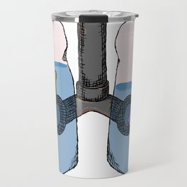 Breathing in Water Travel Mug