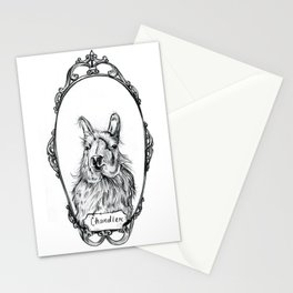 Chandler the Llama Stationery Cards