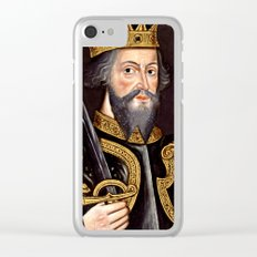 King William I, The Conqueror Clear iPhone Case