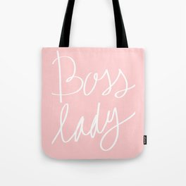 Boss Lady Hand Lettered  Tote Bag