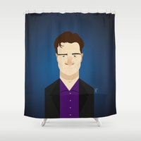 castle Shower Curtains featuring Castle by Bady Church