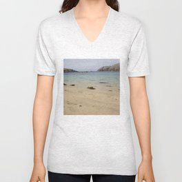 Beach Lewis and Harris 2 Unisex V-Neck