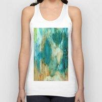 waterfall Tank Tops featuring Waterfall by Rosie Brown