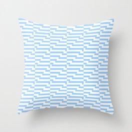Mariniere marinière blue wave version 2 Throw Pillow