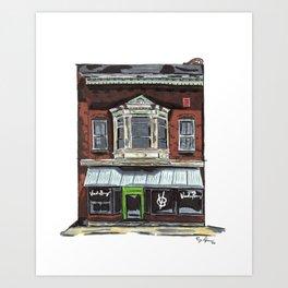 Voodoo Brewery - Meadville Art Print