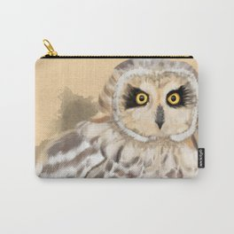 Short Eared Owl #2 Carry-All Pouch