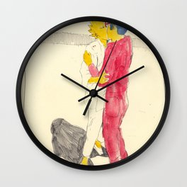 Lisa/kei/milhouse/kaneda - Bartkira Wall Clock