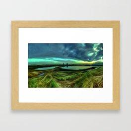 Marina (Digital Art) Framed Art Print