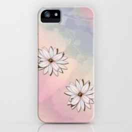 lily-white iPhone Case