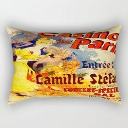 Vintage poster - Casino de Paris Rectangular Pillow