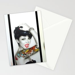 'Ruby Rose Mosaic' Stationery Cards