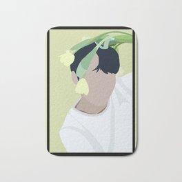 Flower Boy #3 Bath Mat
