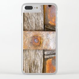 Love of Rust Clear iPhone Case