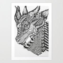 Zerachiel Art Print