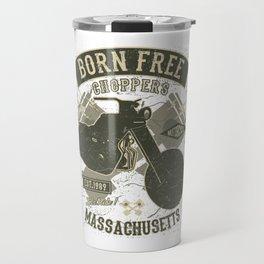 Born Free Choppers - Massachusetts Travel Mug