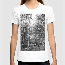 Forest black and white 14 T-shirt