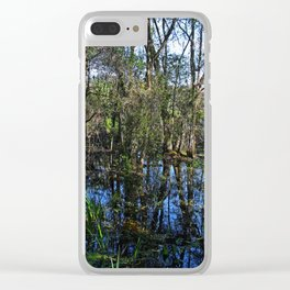 Sunday in the Slough Clear iPhone Case