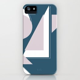 Geometric Shapes Abstract iPhone Case