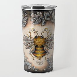 Crystal bumblebee Travel Mug