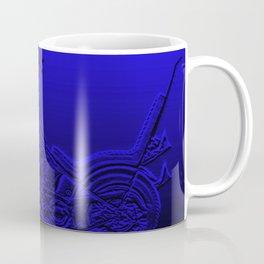 Blue Chopper Coffee Mug