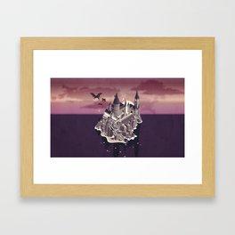 Hogwarts series (year 5: the Order of the Phoenix) Framed Art Print