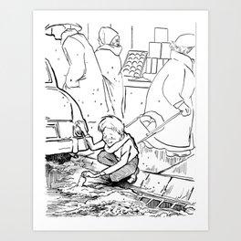 Cheer Up Charlie... Art Print