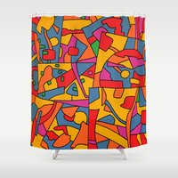cinema Shower Curtains featuring - cinema - by Magdalla Del Fresto