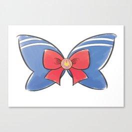 Sailor Moon Bow Canvas Print